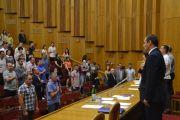 Фотозвіт пленарного засідання позачергової 14 сесії міської ради
